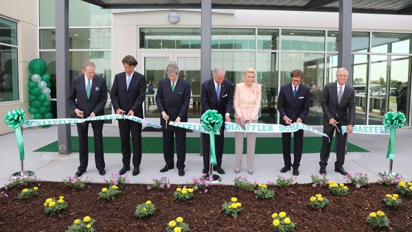 Schaeffler's regional headquarters for the Americas in Fort Mill celebrates the Grand Opening of the Corporate 2 administrative building and the expansion of the site's FM1 manufacturing plant.